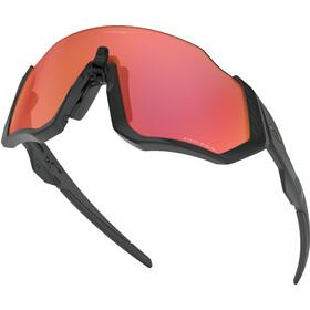 Oakley Flight Jacket Lunettes de soleil, matte black/prizm trail torch